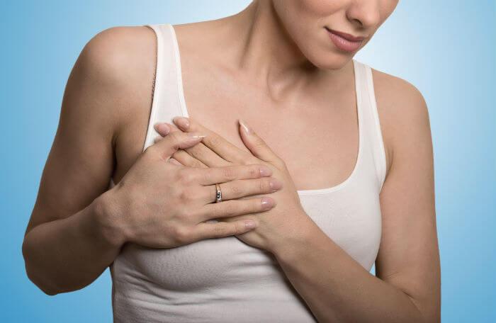 Уплотнение в молочной железе - причины появления