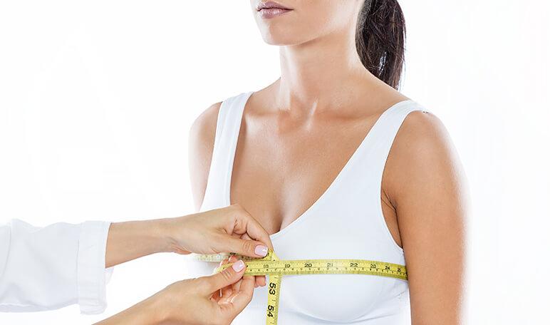 Увеличение объёма груди за счёт разрастания жировой ткани при инволюции